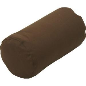 ビーズクッション 直径25cm 円柱 枕 まくら 肘置き 凛 ブラウン 直径250×500mm クッション かわいい おしゃれ|harda-kagu