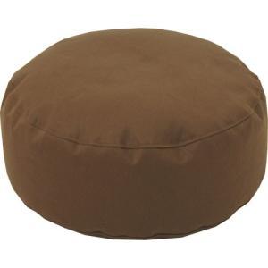 ビーズクッション 直径45cm 円座 座布団 凛 ブラウン 直径450×150mm クッション かわいい おしゃれ|harda-kagu