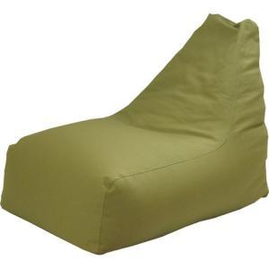 ビーズクッションソファ 凛 オリーブグリーン L字 チェア クッション ソファ ビーズソファー クッションチェア 特大 幅55cm 座椅子|harda-kagu