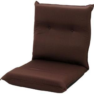 リクライニング座椅子 座椅子 低反発 ワイド ハイバック ピケ ブラウン リクライニング リクライニングチェアー 低反発座椅子 一人掛けソファ|harda-kagu