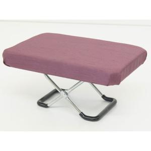 正座椅子 正座器 正座いす 正座イス 正座用椅子 大 無地 紫 快適 座敷 座敷用 らくらく 正座用 和室 椅子 いす イス チェア|harda-kagu