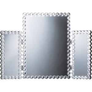 三面鏡 DS-011 83011 幅78 高さ54 厚さ2cm 雑貨 ミラー ドレッサー 卓上ミラー