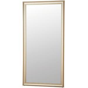 スタンドミラー 姿見 ミラー 鏡 立て掛けミラー 立掛けミラー 立て掛け式 ブランカ 幅90cm シャンパンゴールド 大型 大きい ワイド かがみ 全身鏡|harda-kagu