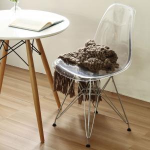パーソナルチェア イームズ チェア イームズシェル GSC クリアー スチール脚 シェルチェア ダイニングチェア デザイナーズ リプロダクト 椅子 チェア いす|harda-kagu