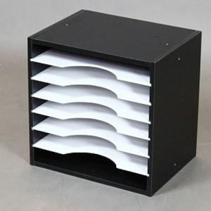 WEEKLYラック35BK 書類ケース 書類ラック 書類棚 書類整理 卓上書類ケース 収納 収納ケース 収納ラックケース シンプル 落ち着いた 棚 WEEKLY
