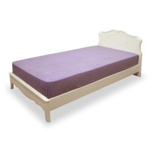 ベッドフレーム ベッド アンティーク 猫足ベッド リモージュW ダブル ホワイト アンティーク 猫足ベッド ダブルベッド|harda-kagu