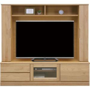 壁面テレビ台 テレビボード バイオレット 幅170cm 高さ160cm ナチュラル 壁面収納テレビ台 テレビボード 幅1700 奥行400 高さ1600mm|harda-kagu