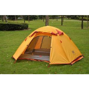超軽量ツーリング 2人用 2層テント キャンピングテント 4色有 送料無料|harebare-shop