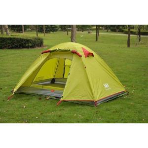 超軽量ツーリング 3人用 2層テント キャンピングテント 4色有 送料無料|harebare-shop