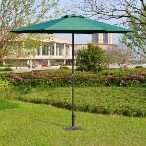 ベース付 ガーデンパラソル 幅270cm  日よけ  スタンド付 大きい 激安 撥水 ガーデンファニチャー シェード  パラソル harebare-shop