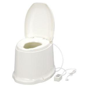 【送料無料】【代金引換不可】ポータブルトイレ 暖房便座 サニタリエースSD 据置式 533-463  【アロン化成】【介護用品】【ポータブル】|harika-gift