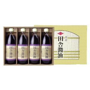 醤油 米菱 田舎醤油 ギフト 1000ml×4本|harika-gift
