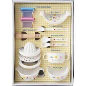 ミキハウス テーブルウェアセット se8-40-3 【食器】【出産祝い・結婚祝い】【ミキハウス】【お食い初め】【ギフト】|harika-gift