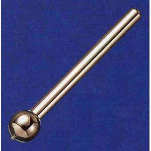 ☆ 全長77mm、  ☆ てい鍼や小児鍼としてご使用いただけます。 ☆ 「先あり」とは球状部分の先端...