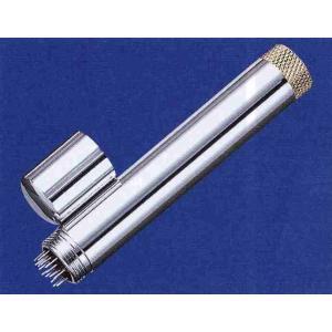 ☆ 刺激は弱め。 ☆ タタキ鍼、瀉鍼として用いる。 ☆ 全長75mm、長さ80mm、Ф12mm、16...