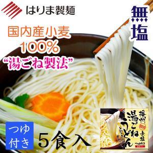 【国内産小麦】播州 湯ごねうどん つゆ付き 5食入り