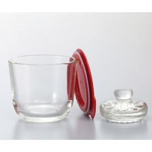 ハリオ(HARIO)ガラスの一夜漬け器 S レッド/GTK-S-R|hariopartscenter