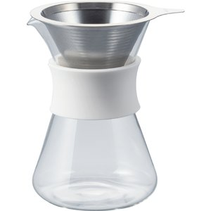 Glass Coffee Maker グラスコーヒーメーカー Simply HARIO ハリオ/S-GCM-40-W|hariopartscenter