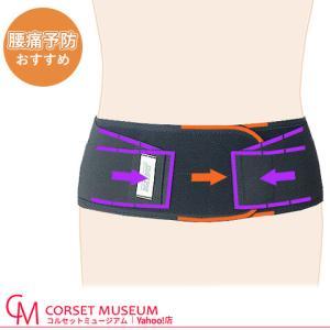 腰痛ベルト 腰痛予防用 慢性腰痛 シルエット|haripico