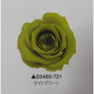 【プリザーブドフラワー】ローズ・いずみ9輪入ターコイズグリーン|hariyakougei21