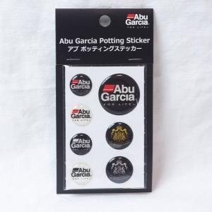 メール便発送可 ABU アブ ポッティングステッカー 防水 ドレスアップに Abu Garcia Potting Sticker|haroweb2