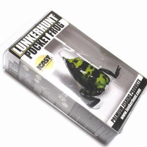 ランカーハント ポケットフロッグ 1/4oz PF07 POISON ポイズンの商品画像|ナビ