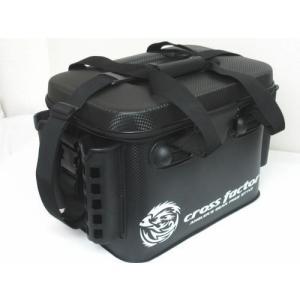 EVAタックルバッグ 36cm ロッドスタンド4本 インナーケース付 クロスファクター|haroweb2