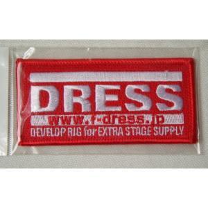 ドレス(DRESS) ロゴワッペン LD-OP-0100 レッド M|haroweb2