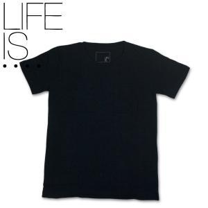 LIFE IS.... BIG POCKET TEE ライフイズ ビッグポケット Tシャツ ネイビー hartleystore