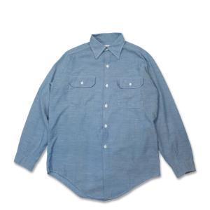 King Kole シャンブレーシャツ 70's Chambray Shirts キングコール (USED)|hartleystore