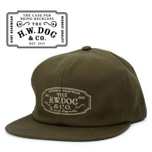 THE H.W.DOG&CO. ドッグアンドコー トラッカー キャップ 帽子 ブラウン hartleystore