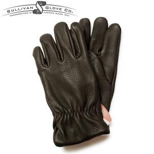 サリバングローブ レザーグローブ 手袋 ディアスキン SULLIVAN GLOVE THE SIERRA DEERSKIN アメリカ製 チョコレート|hartleystore