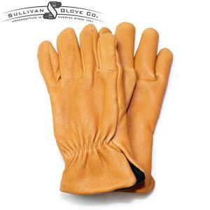 サリバングローブ レザーグローブ 手袋 ディアスキン SULLIVAN GLOVE THE SIERRA DEERSKIN アメリカ製 サドルタン|hartleystore