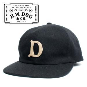 THE H.W.DOG&CO. ドッグアンドコー ベースボールキャップ ブラック hartleystore
