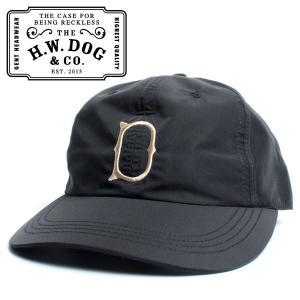 THE H.W.DOG&CO. ドッグアンドコー UNION CAP ゴルフキャップ ブラック hartleystore