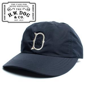 THE H.W.DOG&CO. ドッグアンドコー UNION CAP ゴルフキャップ ネイビー hartleystore