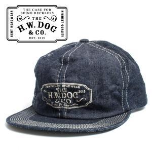 THE H.W.DOG&CO. ドッグアンドコー デニム トラッカー キャップ 帽子 インディゴ hartleystore
