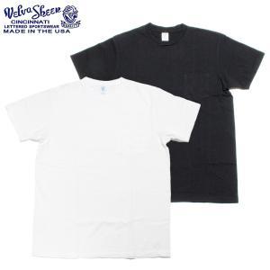 Velva Sheen ベルバシーン ポケット付き クルーネック Tシャツ 限定カラー アメリカ製 hartleystore
