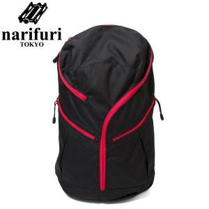 narifuri ナリフリ バックパック ハテナリュック ベンジャミン ブラック/レッド|hartleystore