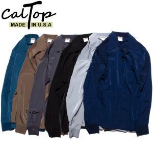 CalTop オープンカラーシャツ キャルトップ 長袖 #3003 アメリカ製|hartleystore