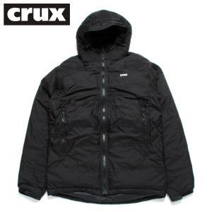 crux ダウンジャケット クラックス マグマジャケット 防水透湿 800 EUフィルパワー ブラック|hartleystore