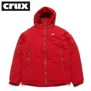 crux ダウンジャケット クラックス マグマジャケット 防水透湿 800 EUフィルパワー ダークレッド|hartleystore