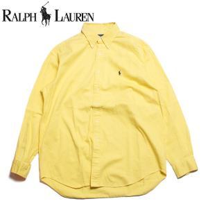 ラルフローレン Ralph Lauren 長袖 ボタンダウンシャツ イエロー|hartleystore