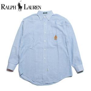 ラルフローレン Ralph Lauren ボーイズ ボタンダウン オックスフォード シャツ アメリカ製|hartleystore