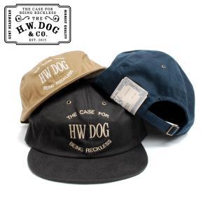 THE H.W.DOG&CO. ドッグアンドコー ストアキャップ D-00450 日本製 hartleystore