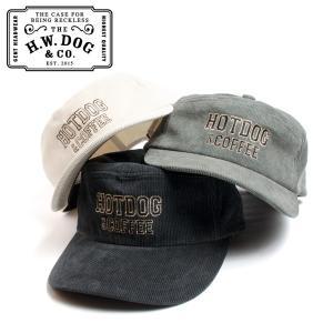 THE H.W.DOG&CO. ドッグアンドコー コマーシャルキャップ HOTDOG & COFFEE CAP D-00460 日本製 hartleystore