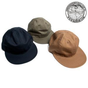 COOPERSTOWN BALL CAP クーパーズタウン ボールキャップ ヘリンボーン コットン アメリカ製|hartleystore