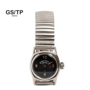 GS/TP ジーエスティーピー 腕時計 ミリタリーウォッチ BOTTLETOP DIAL ブラックダイアル|hartleystore