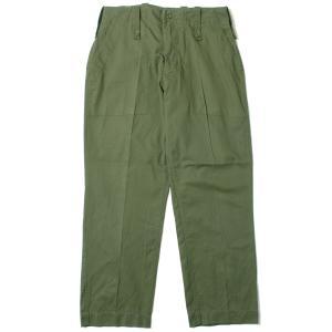British Army Light Weight Fatigue Pants イギリス軍 ファティーグパンツ オリーブ (DEAD STOCK)|hartleystore