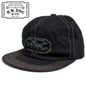 THE H.W.DOG&CO. ドッグアンドコー トラッカー キャップ 帽子 ブラックインディゴ|hartleystore